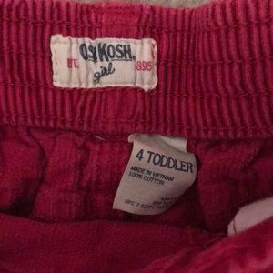 OshKosh B'gosh Bottoms - Osh Kosh corduroy pink skirt